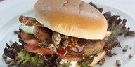 Insekten-Burger im Supermarkt: Fast Food aus Krabbeltieren