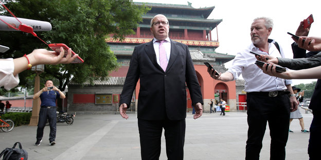 Altmaier in China