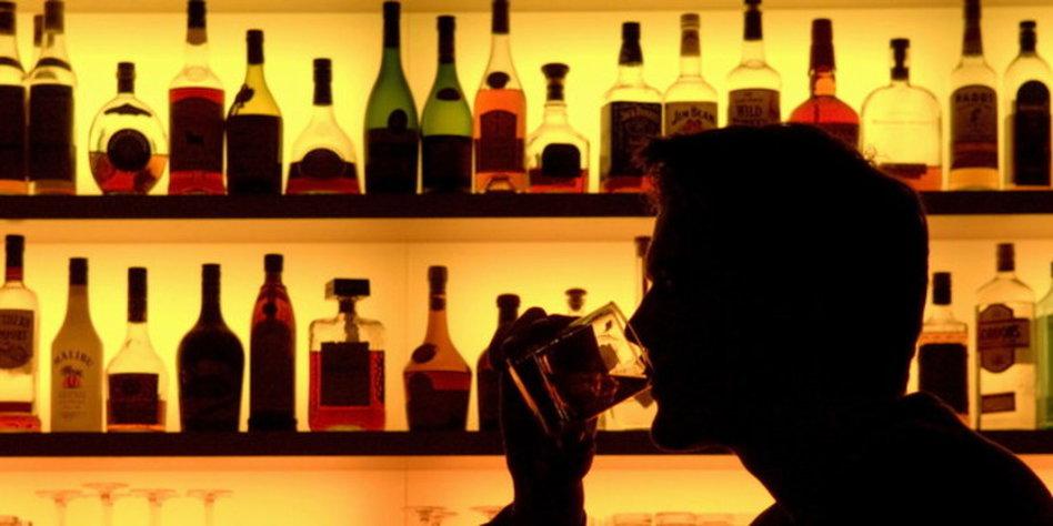 Der Alkoholismus und die Zuckerkrankheit und die Folgen