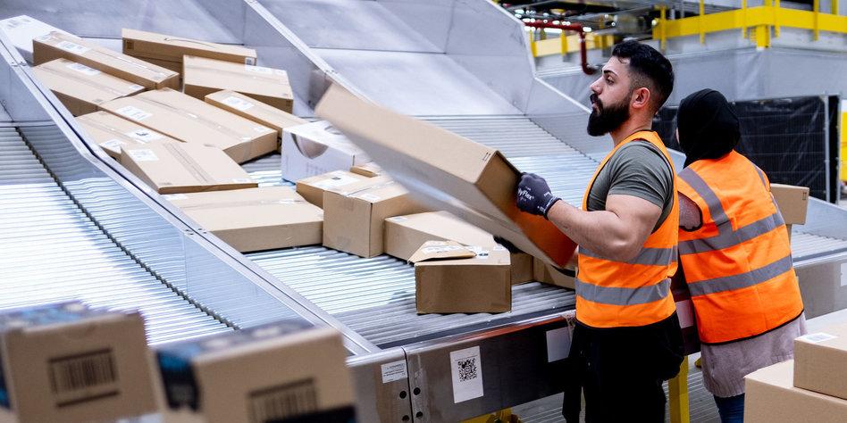 Streiks zu Amazons Aktionstag