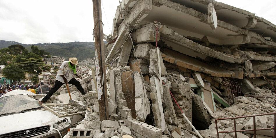 Erdbeben bei den NGOs