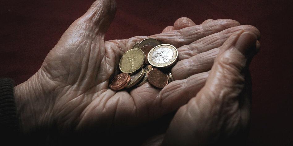 Renten kaum über Hartz IV