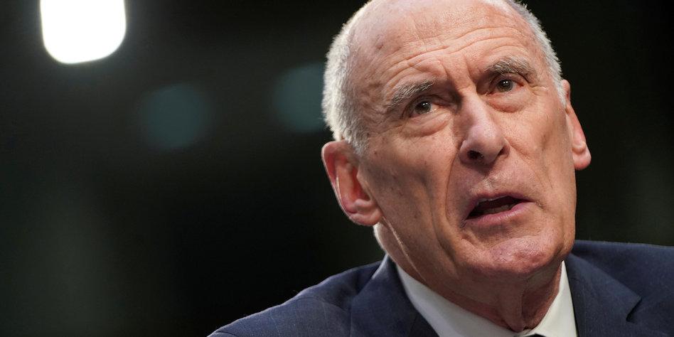 US-Geheimdienstkoordinator Coats wirft das Handtuch