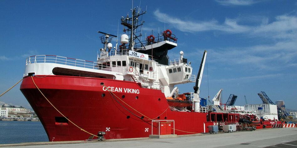 """""""Ocean Viking"""" darf nicht tanken"""