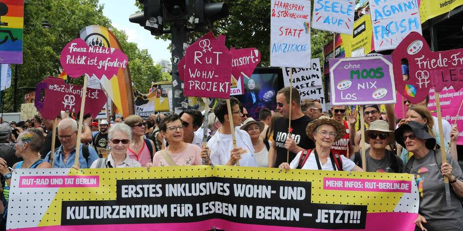 Ein queeres Haus in Lesbenhand