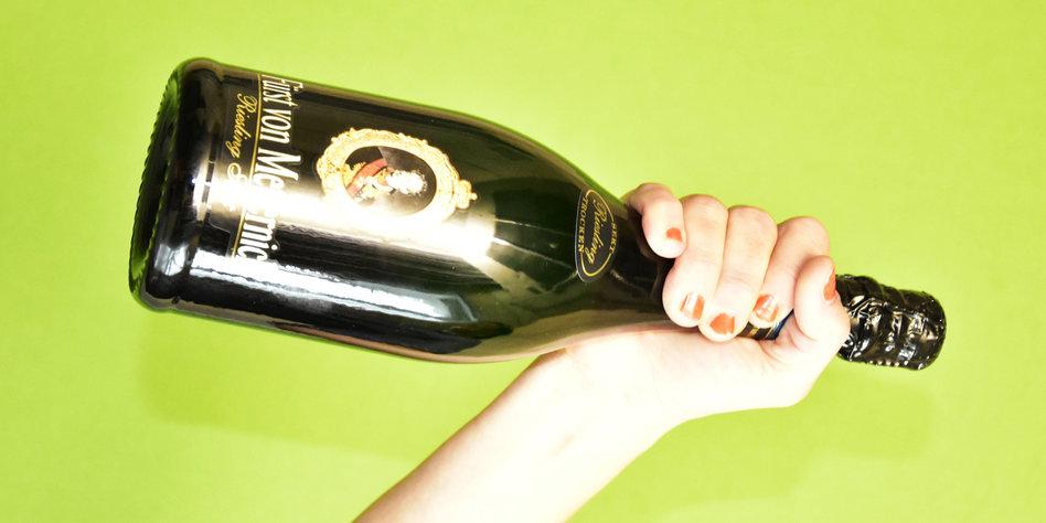 Weg mit der Flasche!