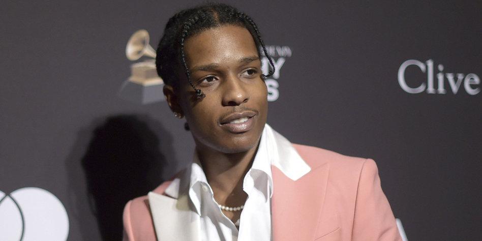 US-Rapper Asap Rocky wegen Körperverletzung verurteilt