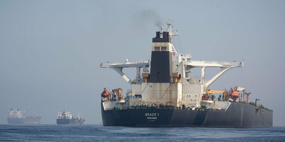 USA stoppen Freigabe von iranischem Tanker