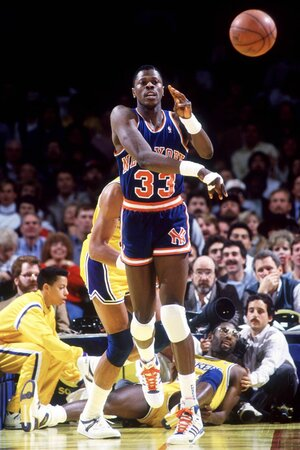 Patrick Ewing in Aktion