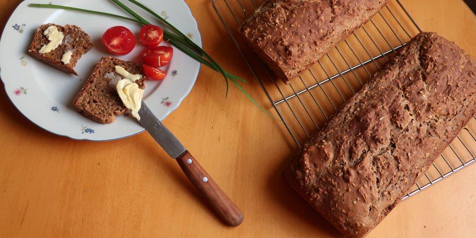 Aus alt mach Brot