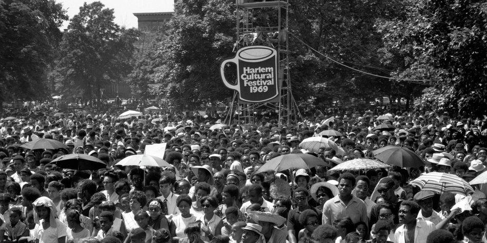 Vergessenes schwarzes Woodstock