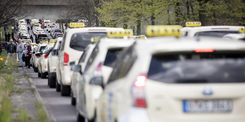 Dieser Taxifahrer ist whack