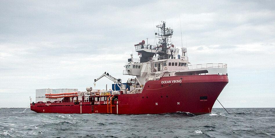 """Malta lässt """"Ocean Viking"""" anlegen"""