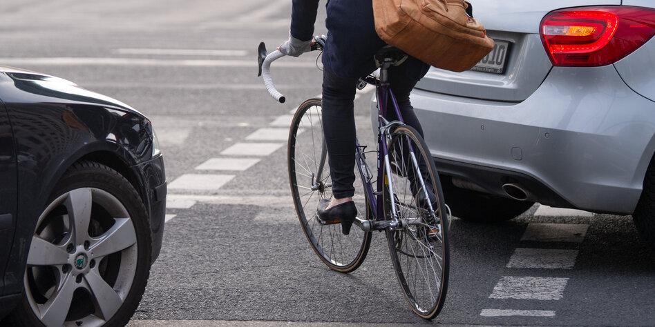 Berliner Radfahrer leben gefährlich