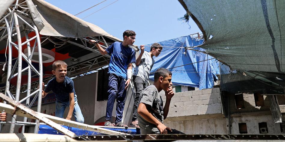 Terrorismus im Gazastreifen: Doppelanschlag auf Hamas-Polizei
