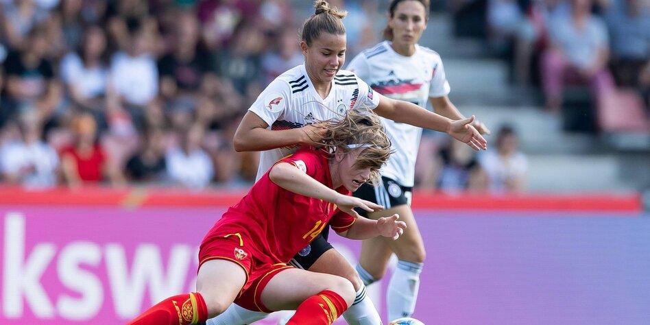 Fussballnationalmannschaft Der Frauen Einfach Feiern Taz De