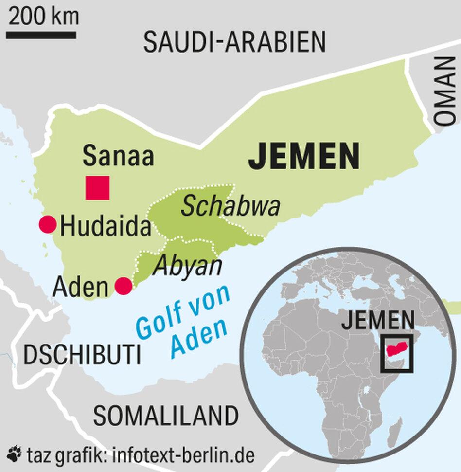 Separatisten Im Jemen Muskelspiel Fur Die Unabhangigkeit Taz De
