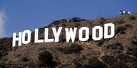 "Der Schriftzug ""Hollywood"" in den Hollywood Hills."