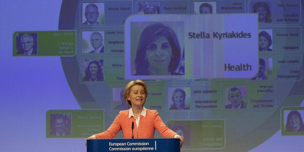 EU Kommission Leyen 10092019 ap - Neue EU-Kommission: Europäischer Etikettenschwindel