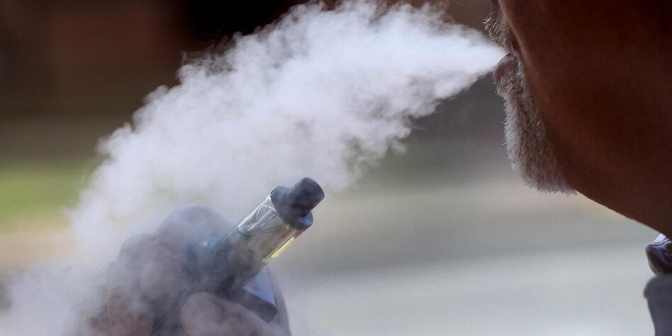 Trump will aromatisierte E-Zigaretten verbieten