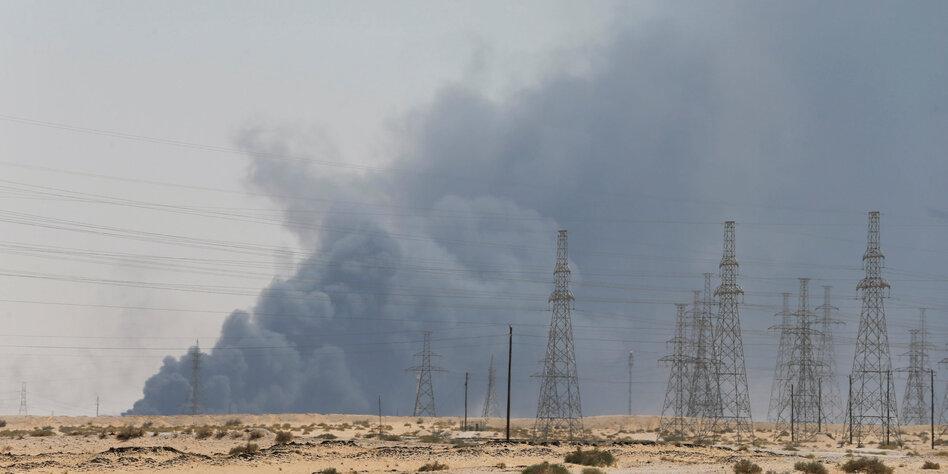 Drohnenanschläge in Saudi-Arabien: USA machen Iran verantwortlich