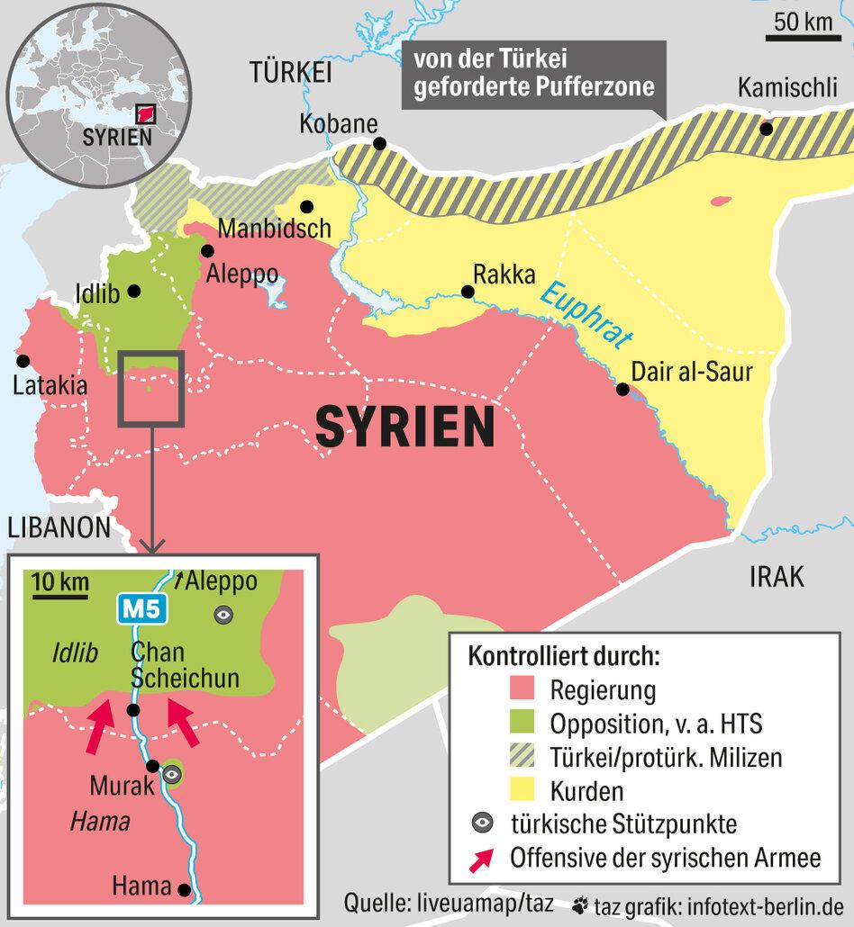 Syrien Irak Karte.Syrien Gipfel In Der Turkei Eu Blickt Argwohnisch Nach