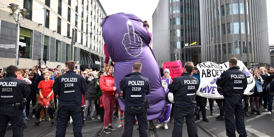 Proteste für reproduktive Rechte