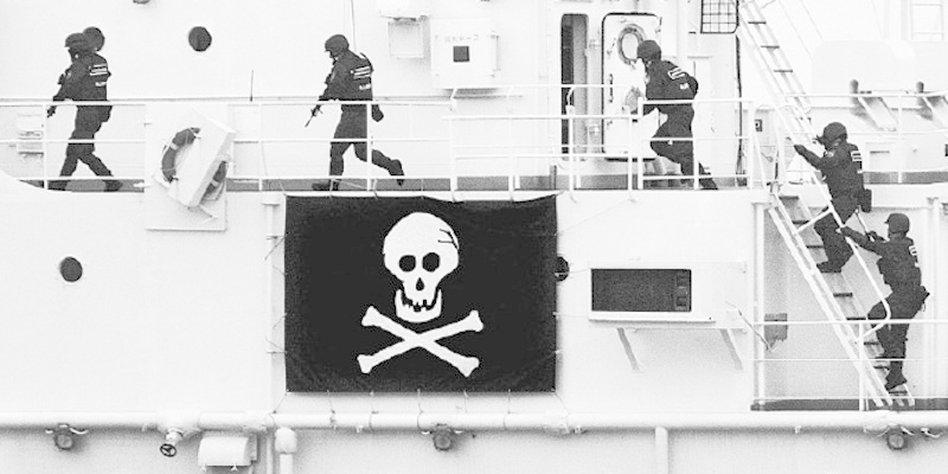 gekapertes deutsches schiff