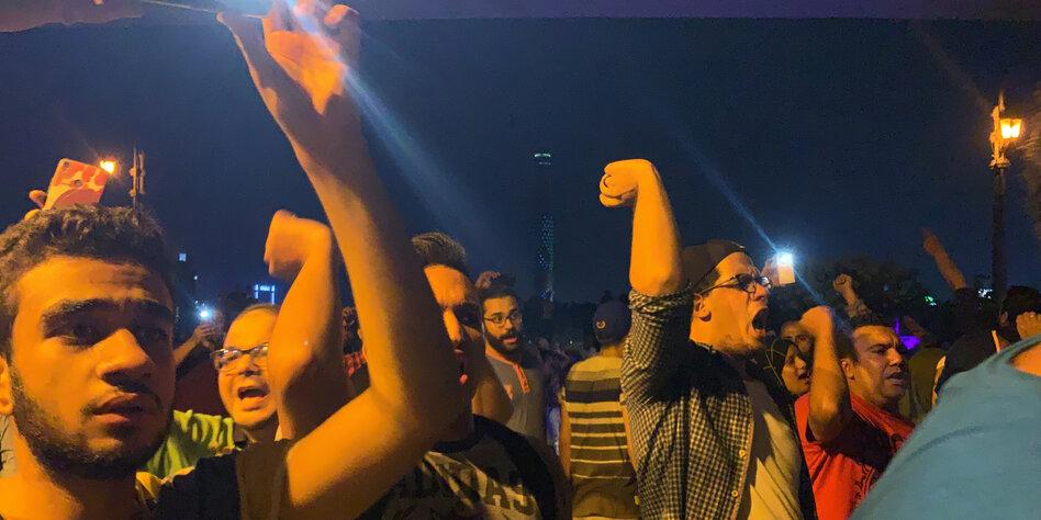 Ägypten: Proteste in mehreren Städten gegen Präsident al-Sisi