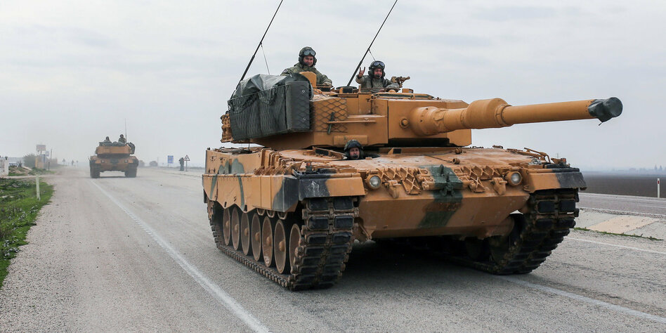 Maas: Einschränkung von Waffenexportgenehmigungen für Türkei - Ausland