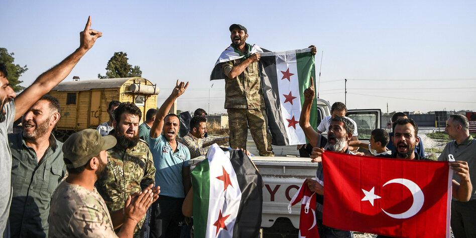 Kurden einigen sich mit Damaskus