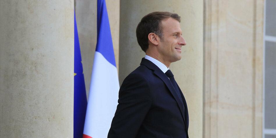 Macron schmollt