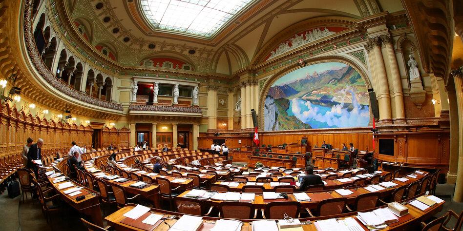 Aufbruchstimmung in der Schweiz