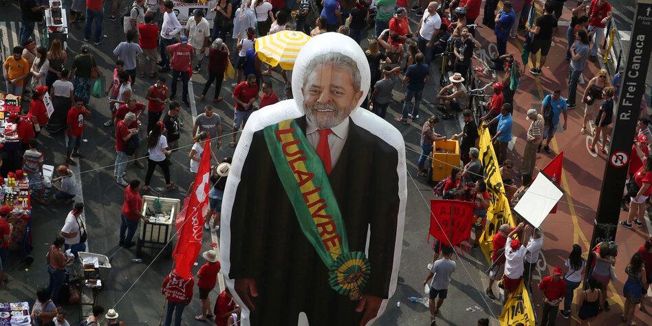"Personalie ""Lula"" spaltet Brasilien"