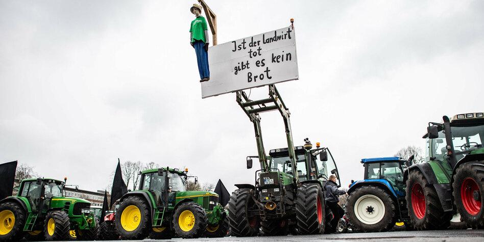 "Proteste gegen ""Bauernbashing"""
