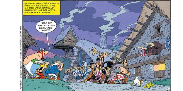 Ein Bild aus dem neuen Asterix-Band