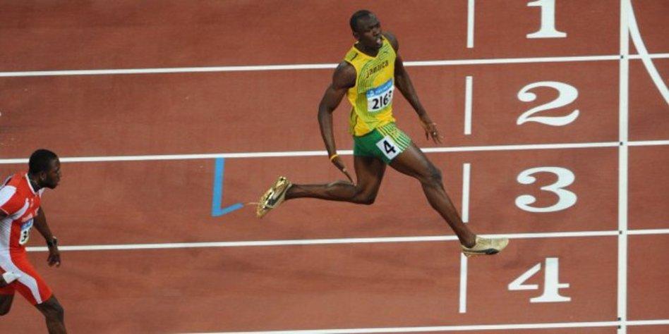 b2995d1075fd9 Physiker haben nachgerechnet: Wie schnell ist Usain Bolt? - taz.de