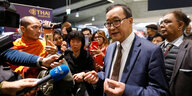 Kambodschas Oppositionspolitiker Sam Rainsy