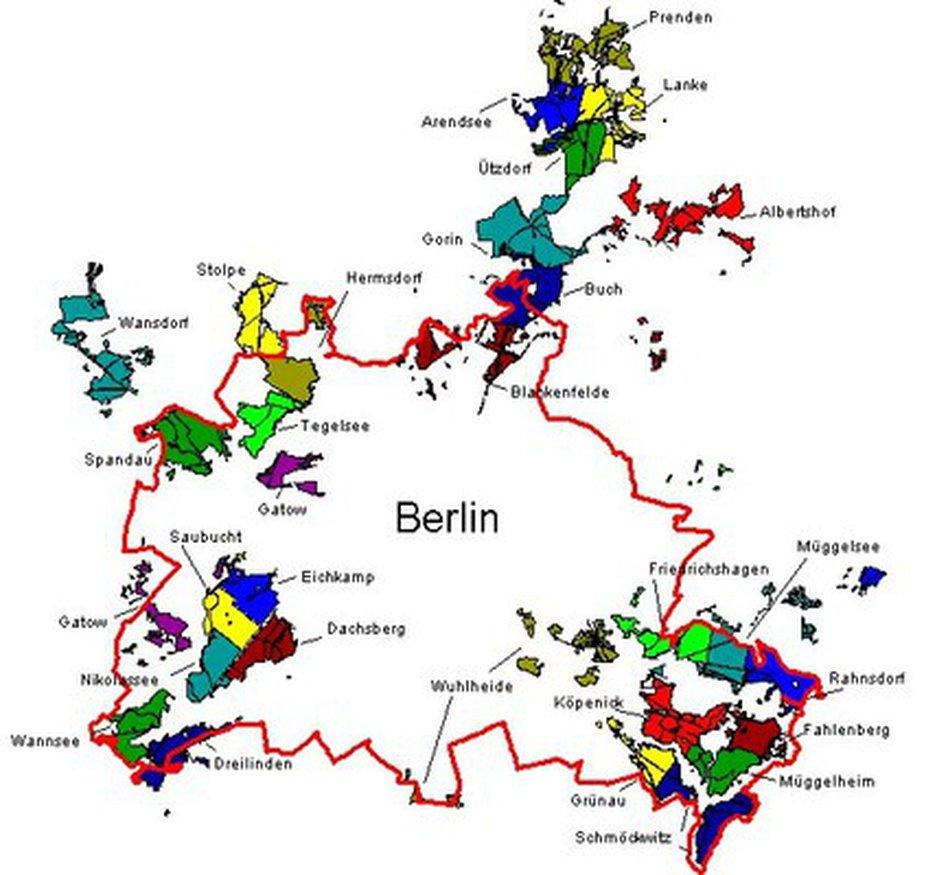 Wälder Berlin