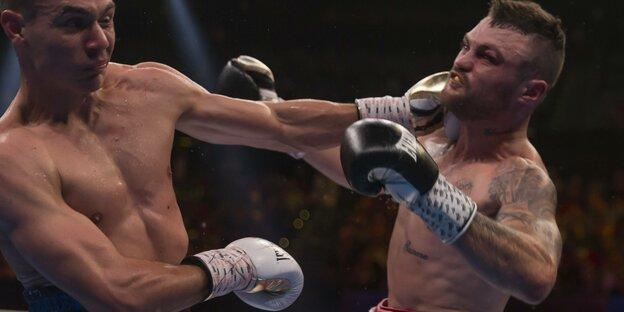 Dwight Ritchie boxt im August dieses Jahres gegen seinen australischen Landsmann Tszyu