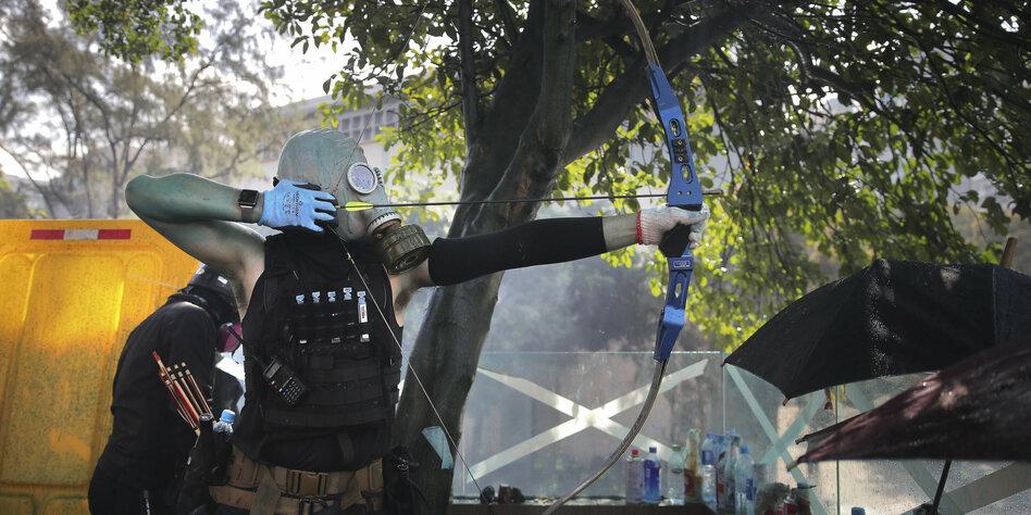 Neue Welle der Gewalt in Hongkong