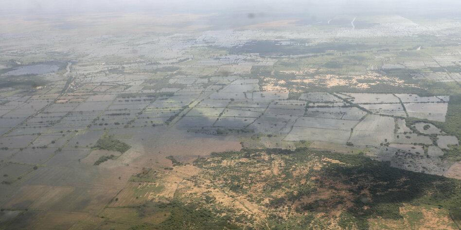 Horn von Afrika versinkt im Regen
