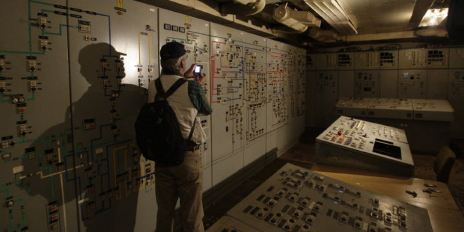 honeckers bunker f r besucher ge ffnet der unterirdische palast der republik. Black Bedroom Furniture Sets. Home Design Ideas