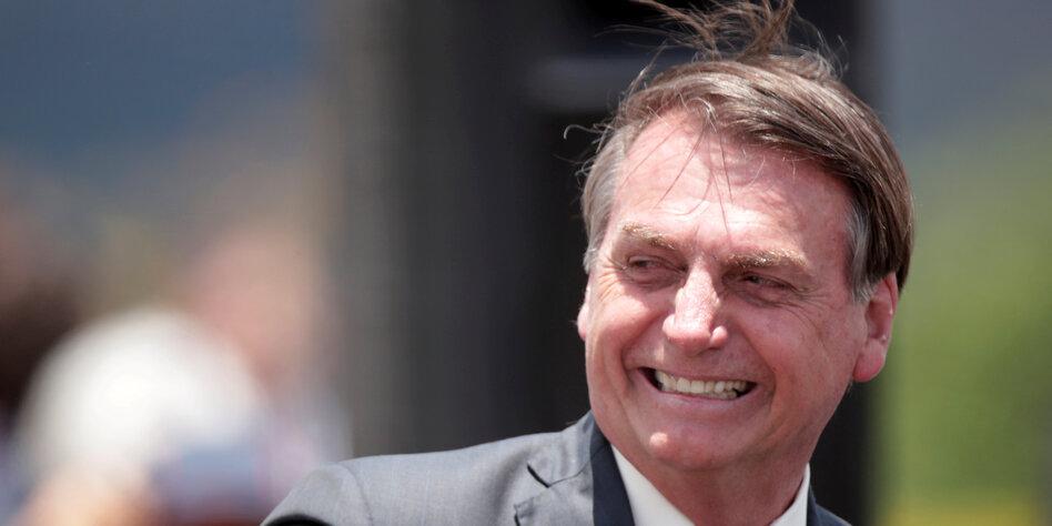 Bolsonaro versucht's in Hollywood
