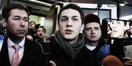 Justiz gegen Oppositionelle in Russland: Knapp am Knast vorbei