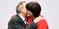 SPD wählt Vorsitzende: …und alle sind glücklich