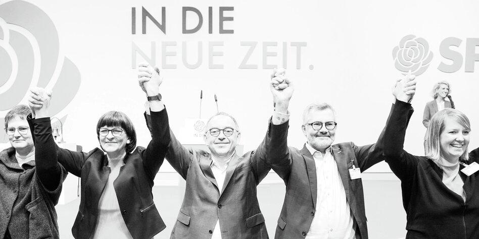 Mindestlohn Forderung der SPD: Zurück in die Zukunft