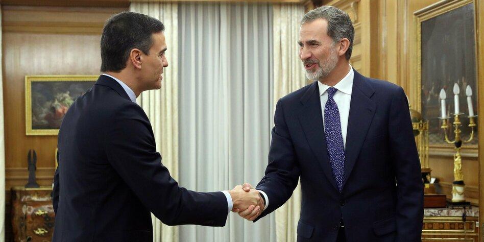 Auftrag zur Regierungsbildung in Spanien: Sánchez sucht die Mehrheit