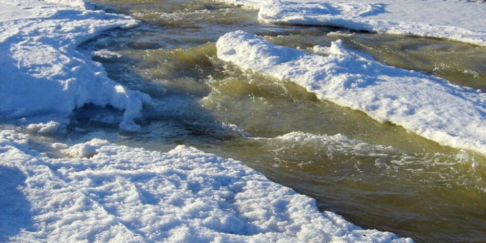 Permafrostboden Sibirien