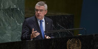 Thomas Bach in New York